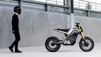 Perkawinan Roadster dan Supermoto Lahirkan Motor Listrik Cantik, DAB Concept-E