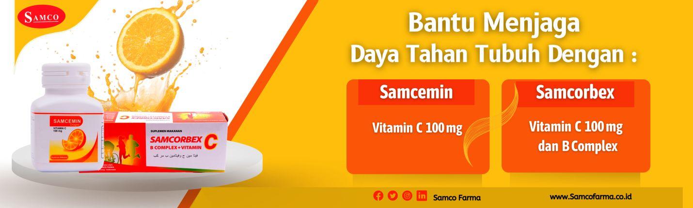 Multivitamin dari Samco Farma.