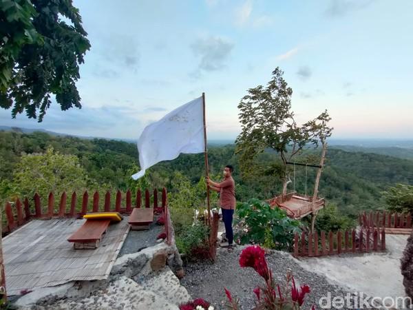 Gunung Kuniran berada di Dusun Pandu, Kalurahan Hargorejo, Kapanewon Kokap, Kulon Progo, Yogyakarta. (Jalu Rahman Dewantara/detikcom)
