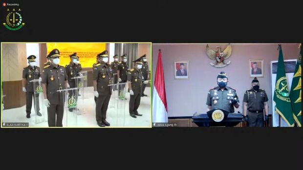 Pelantikan pejabat eselon II Kejagung