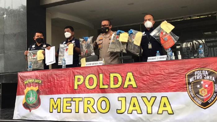 Polda MEtro Jaya tetapkan 1 orang tersangka terkait penipuan modus rekrutmen Satpol PP DKI Jakarta (Nur Aziza/detikcom)