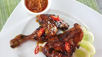 Resep Ayam Bakar Madu Wijen yang Legit Empuk