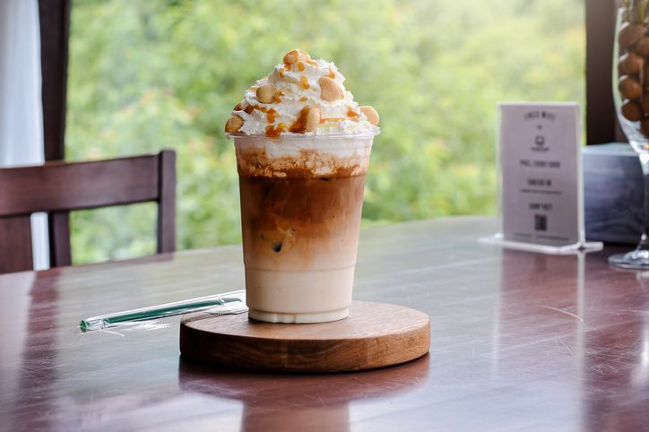 Resep Iced Biscoff Latte