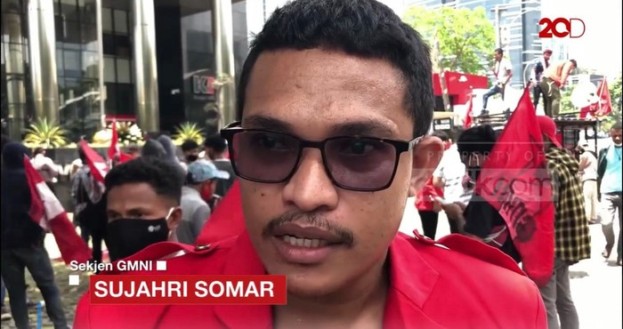 Sujarhi Somar, Sekjen GMNI pimpinan Imanuel Cahyadi. (Dok GMNI)