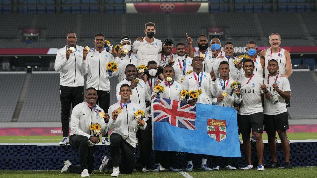 Kisah Mengharukan Fiji: Medali Emas Olimpiade Kalahkan Lockdown