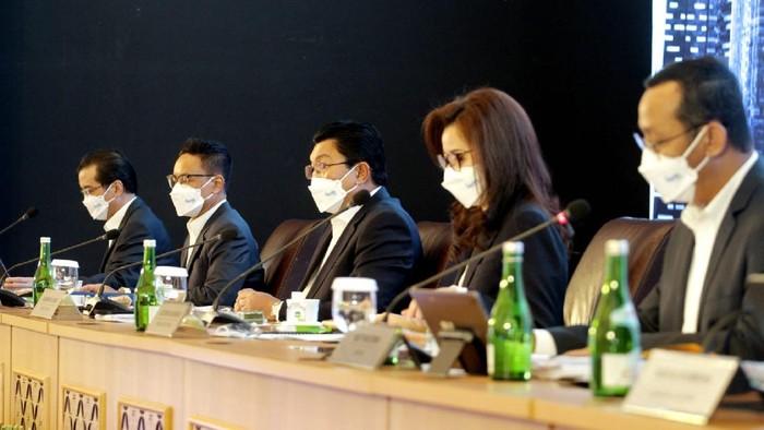 Mendorong pemulihan ekonomi dari dampak pandemi, Bank Mandiri menumbuhkan penyaluran kredit konsolidasi.