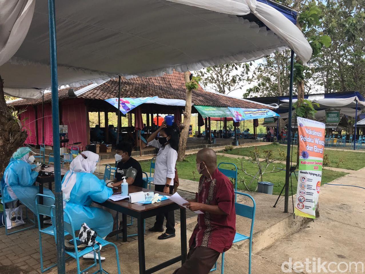 Vaksinasi Geosite Ngingrong
