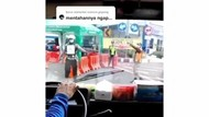 Viral Kendaraan Pembawa Tabung Oksigen Diputar Balik di Bundaran Waru Surabaya