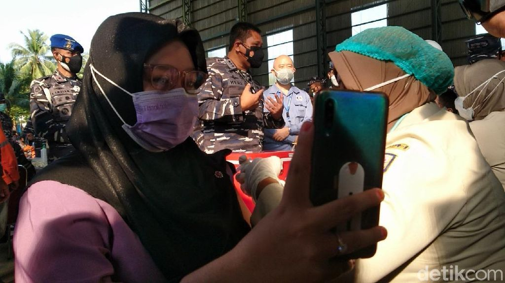 Vaksinasi COVID di Cilegon Rendah, Lanal Banten Rutin Gelar Selasa-Kamis