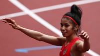 Sprinter RI Alvin Tehupeiory Lolos ke Babak Utama 100 Meter Putri