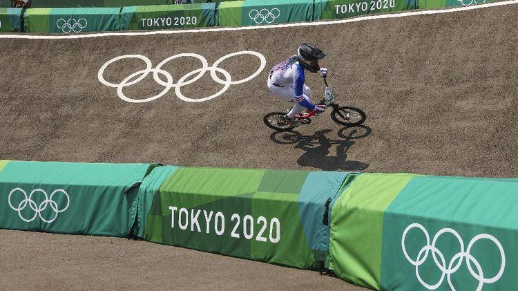 Bangga! Sepeda asal Gresik Ngegas di Olimpiade Tokyo