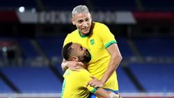 Pemain-pemain Brasil Ledek Argentina yang Sudah Kandas dari Olimpiade