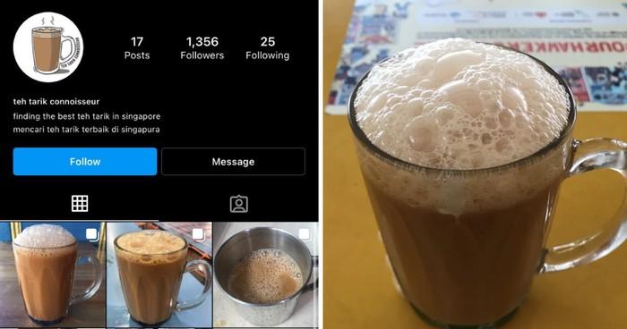 Bucin Makanan! 5 Instagram Ini Khusus Unggah Foto Nasi Ayamdan Teh Tarik