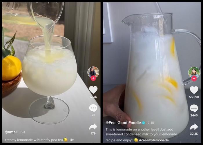 Creamy Lemonde Tren di TikTok, Begini Cara Bikinnya
