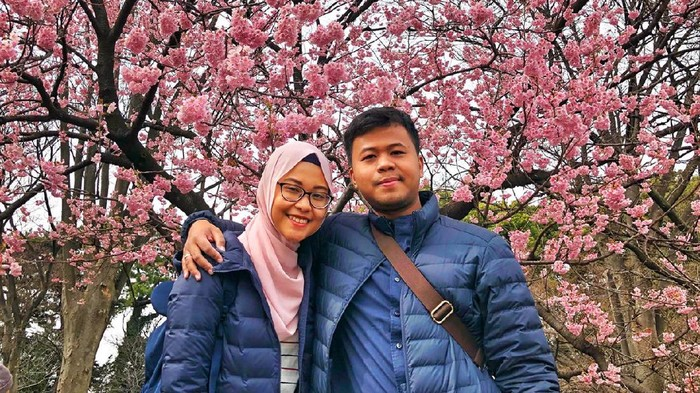 dr Gesti Wira Nugrayekti dan suami