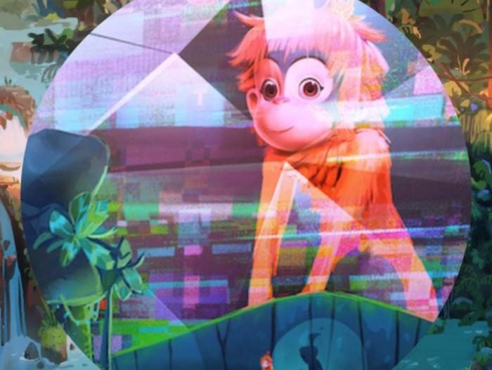Poster perdana film animasi Ozi.