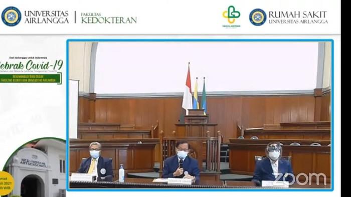 Guru besar FK Unair Surabaya memberi rekomendasi pemerintah dalam menangani pandemi COVID-19