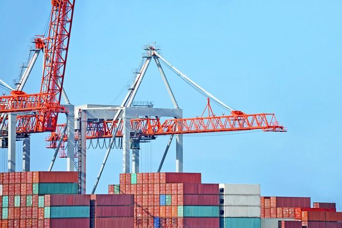 Ilustrasi kontainer