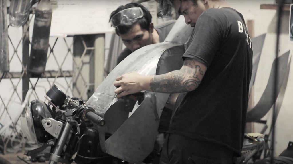 Bengkel Motor Kustom Keluhkan Harga Bahan Baku yang Naik Kala Pandemi