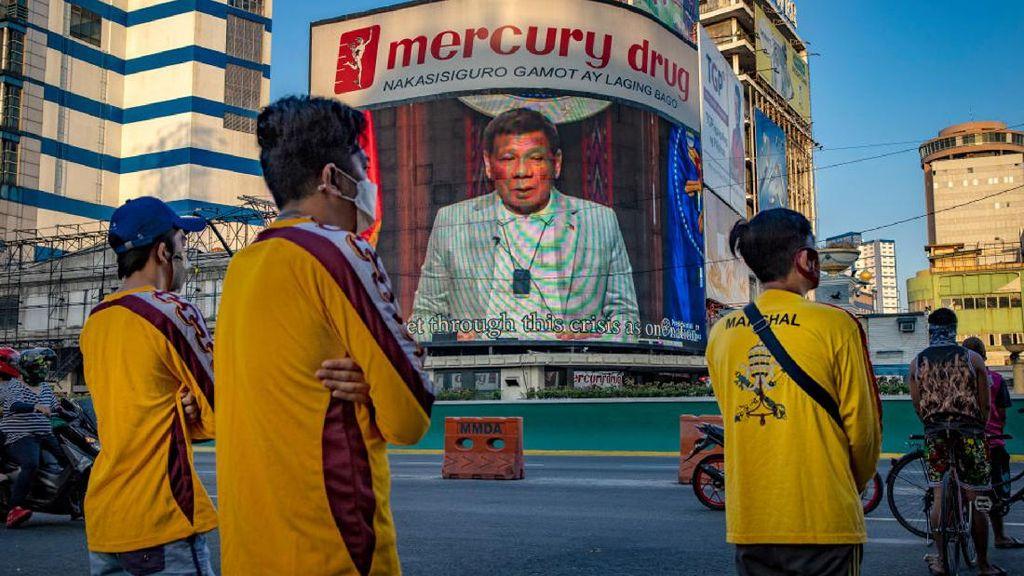 Ini Ancaman Presiden Filipina Bagi Warganya yang Tolak Vaksin