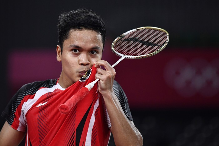 Masih ada 3 wakil Indonesia yang berburu medali di cabang olahraga bulutangkis Olimpiade Tokyo 2020. Siapa saja mereka?