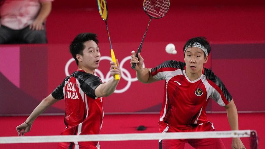 Jantungan Nonton Badminton