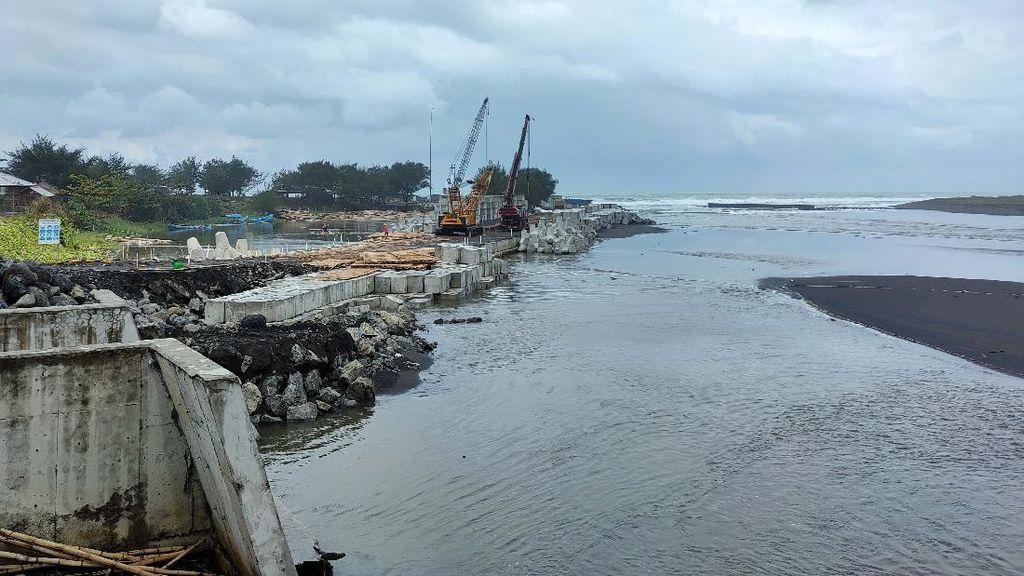 Megaproyek Penangkal Banjir Bandara Kulon Progo Mulai Terbentuk