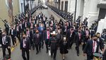 Potret Pelantikan Presiden Peru yang Ingin Mengakhiri Korupsi