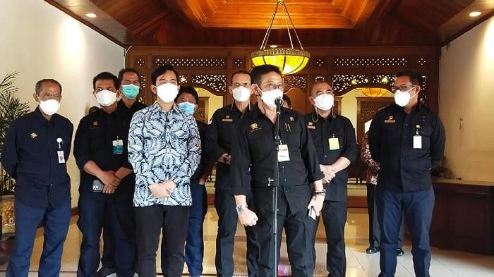 Mentan Syahrul Yasin Limpo bertemu Wali Kota Solo Gibran Rakabuming Raka