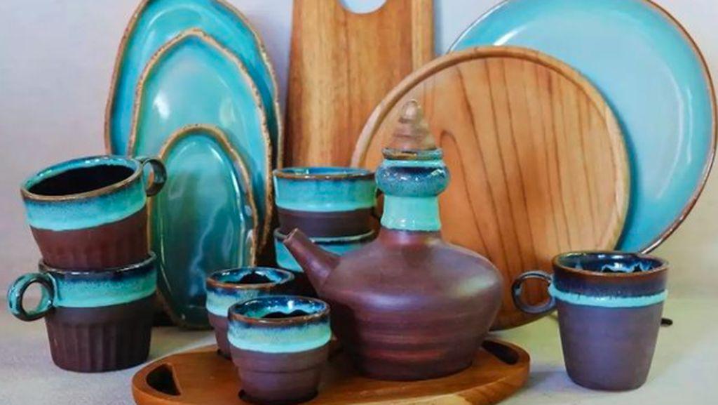 Mantap! Kriya Keramik Lokal Ini Sudah Tembus Pasar Timur Tengah