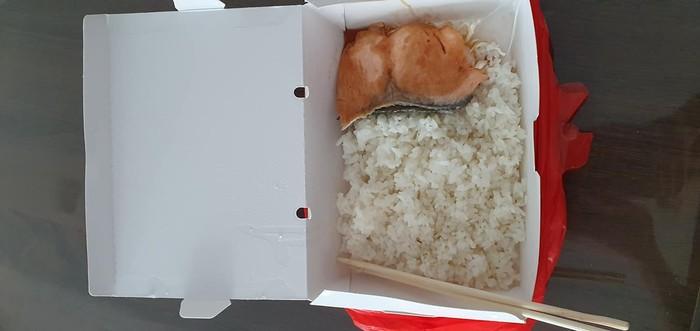 Nasi Salmon Teriyaki Tidak Sesuai Ekspektasi
