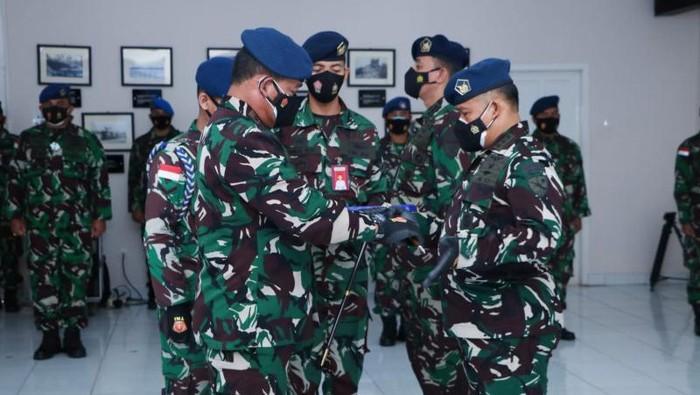Pangkoopsau III Marsda TNI Bowo Budiarto melantik Kolonel Pnb A Gogot Winardi sebagai Komandan Lanud JA Dimara Merauke (ANTARA/HO-Pen Koopsau III)