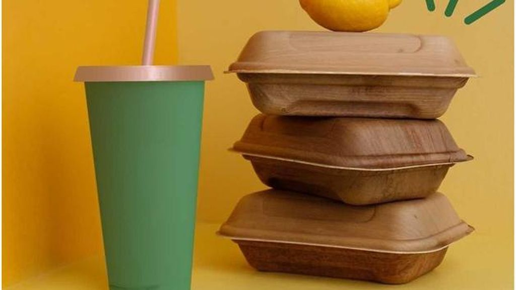 Keren, UMKM Ini Ubah Pelepah Pinang Jadi Pengganti Styrofoam