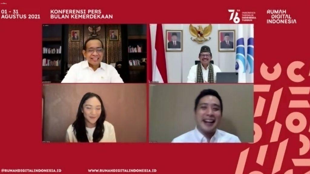 Konser-Lomba Makan Kerupuk Virtual Bakal Warnai Rumah Digital Indonesia