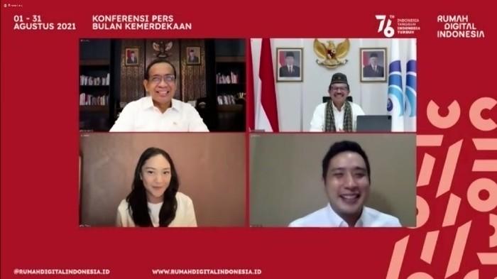 Pemerintah Launching Bulan Kemerdekaan dan Rumah Digital Indonesia (Foto: Istimewa)