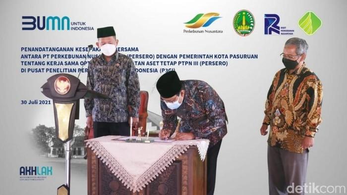 Upaya Pemkot Pasuruan membangun kawasan wisata terintegrasi terus dilakukan. Kawasan wisata terintegrasi akan menyatukan wisata religi, bahari, edukasi dan sejarah.