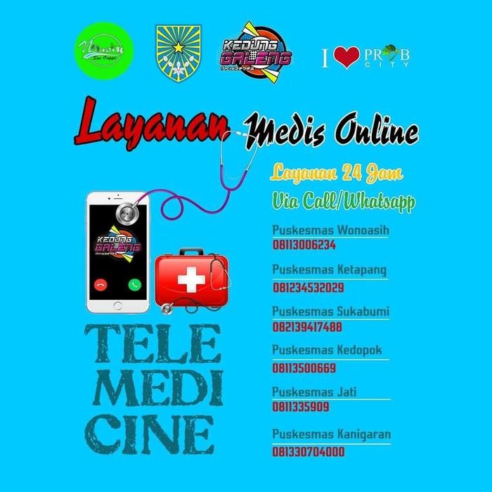 Pemkot Probolinggo meluncurkan program pelayanan medis online atau telemedicine. Pelayanan medis tersebut bisa diakses 24 jam.