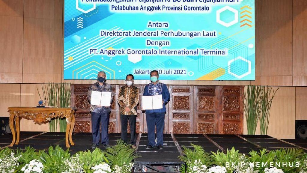 Pengembangan Pelabuhan Anggrek Gorontalo Dibangun dengan Skema KPBU