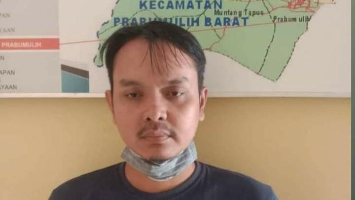 Redian Tubagus Rangga, pembunuh Plt Kepala BPBD Merangin, Syafri.