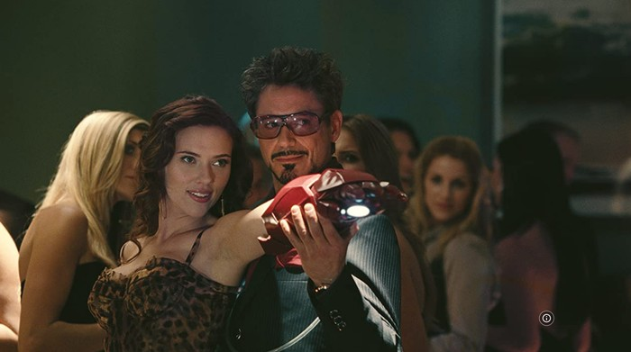 Penampilan Scarlett Johansson sebagai Black Widow.