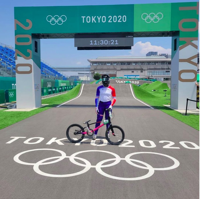 Sepeda BMX Buatan Indonesia Berlaga di Olimpiade Tokyo 2020