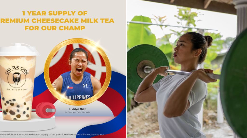 Sumbang Medali Emas Pertama Filipina, Hidilyn Diaz Dapat Makanan Gratis Seumur Hidup