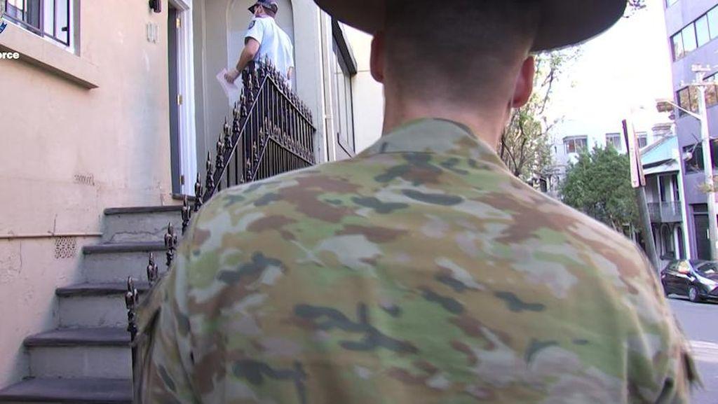 Tentara Mulai Berpatroli di Sydney untuk Bantu Polisi Menegakkan Aturan Lockdown
