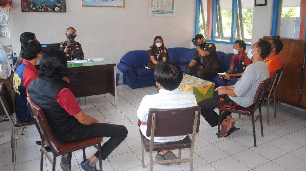 5 Tersangka Dugaan Korupsi Bedah Rumah di Karangasem Bali Segera Disidang