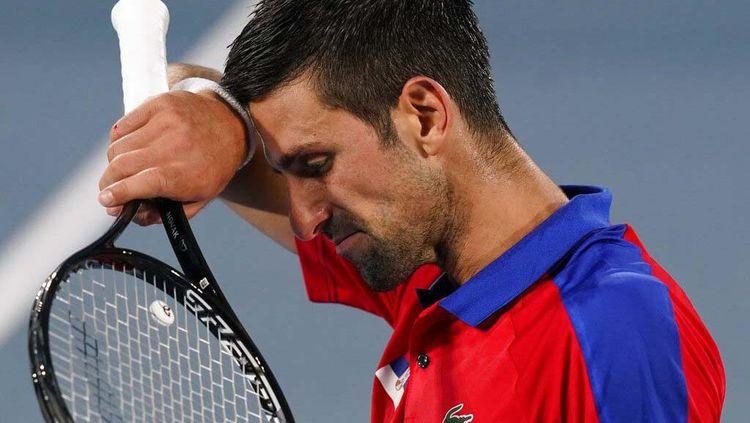 Ekspresi Djokovic Usai Dikandaskan Alexander Zverev