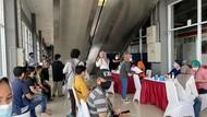 Stasiun Duri Sediakan 150-300 Dosis Vaksin Per Hari sampai 17 Agustus