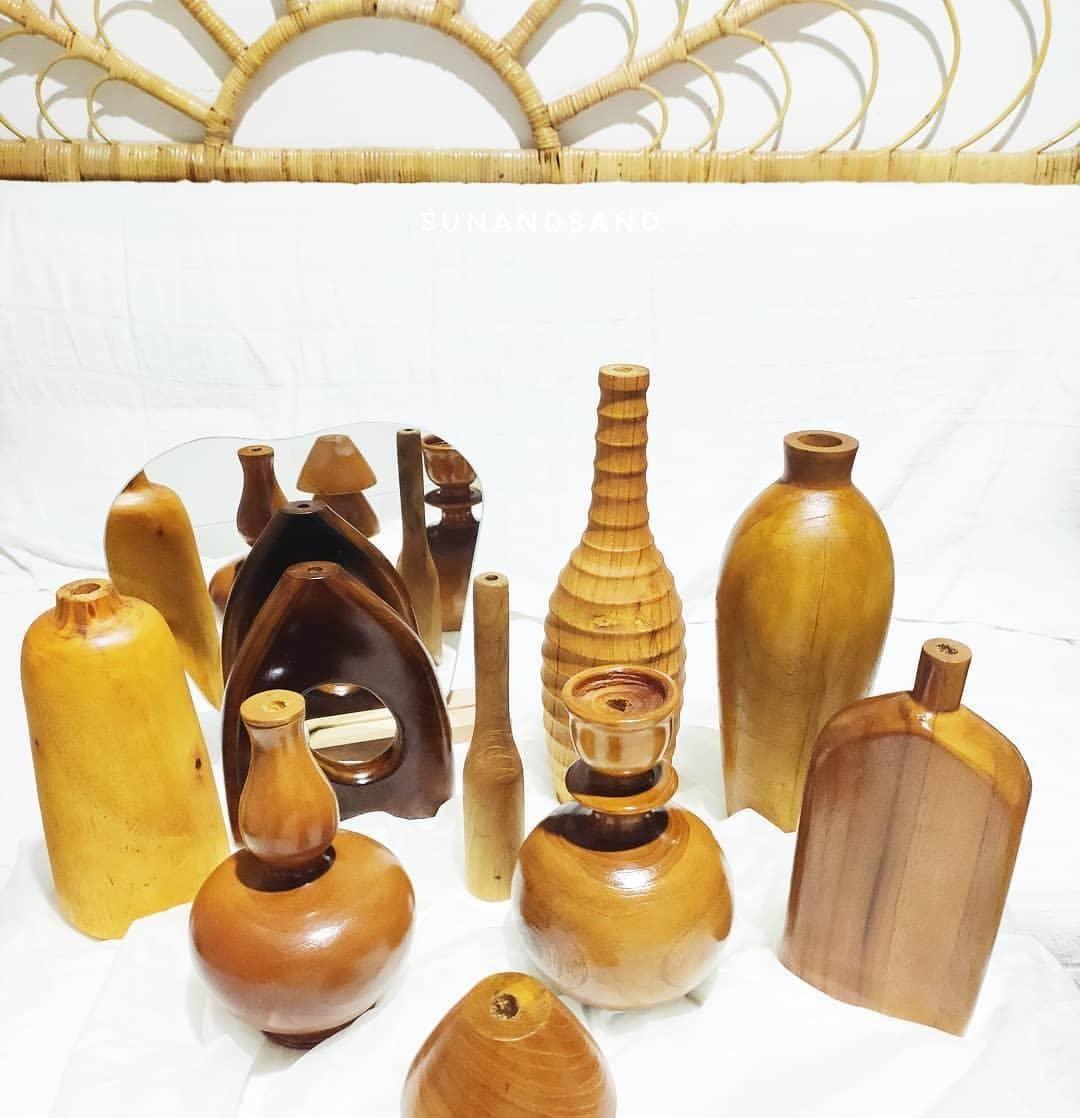 Vas bunya kayu