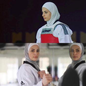 Viral atlet cabang olahraga taekwondo mirip Lady Gaga.