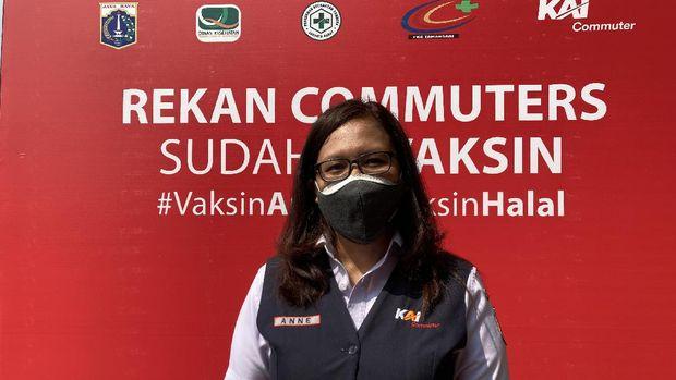 VP Corporate Communication PT Kereta Commuter Indonesia (KCI), Anne Purba