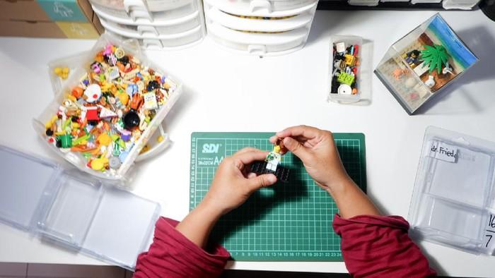 Wanita Ini Raup Puluhan Juta dari Lego, Jadi Kado buat Sandi-Wishnutama